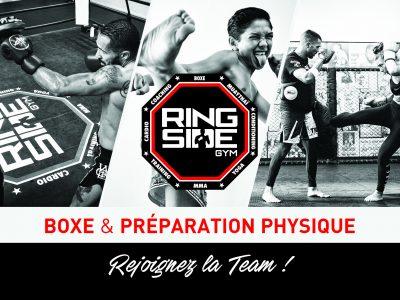 Photo principale de l'article RING SIDE, nouvelle salle de boxe et de préparation physique sur Techlid