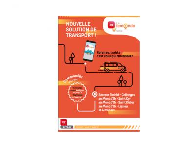 Photo principale de l'article Nouvelle solution de transport TCL A LA DEMANDE sur Techlid