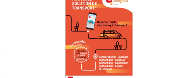 Photo principale de l'article Solution de transport TCL A LA DEMANDE sur Techlid