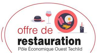 Photo principale de l'article L'offre de restauration sur le Pôle économique ouest Techlid