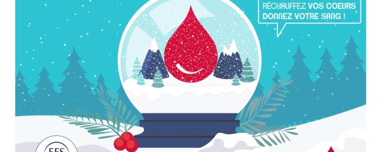 Photo principale de l'article C'est le bon moment pour donner votre sang ! Mardi 26 Janvier – Champagne au Mont d'Or – Espace Mont d'Or