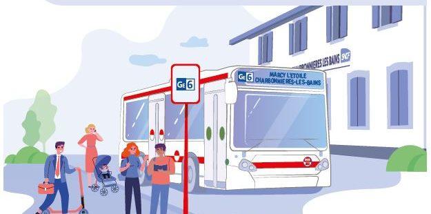 Photo principale de l'article Renfort de la ligne GE6 sur les secteurs de Marcy l'Etoile et Charbonnières-les-Bains à compter du 11 octobre 2021